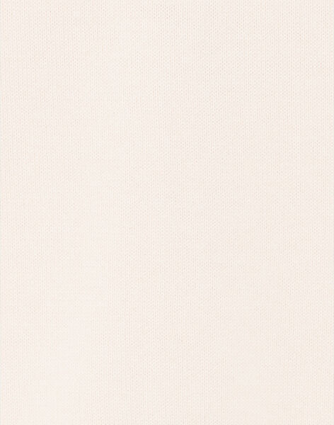 Pale pink openwork knit vest ZENARETTE / 21E2PFI1CARD319