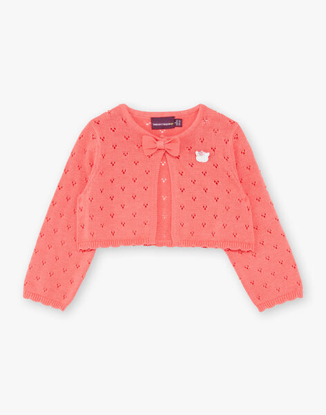Fancy knit coral vest ZACELINE / 21E1BFI2CAR404
