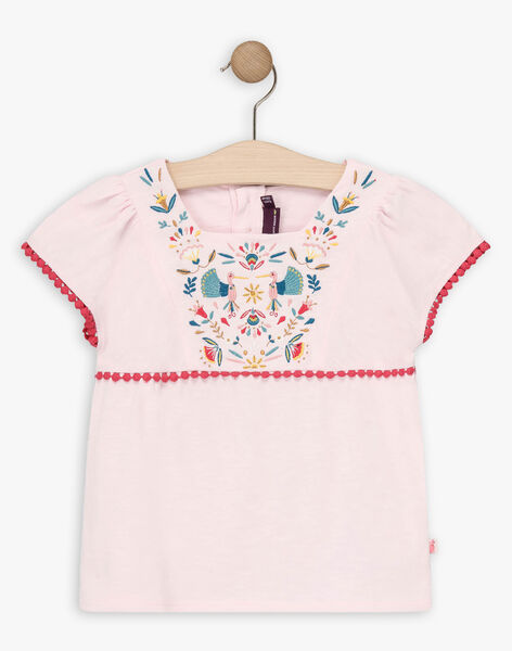 Pink T-shirt TIUVETTE / 20E2PFQ1TMCD317