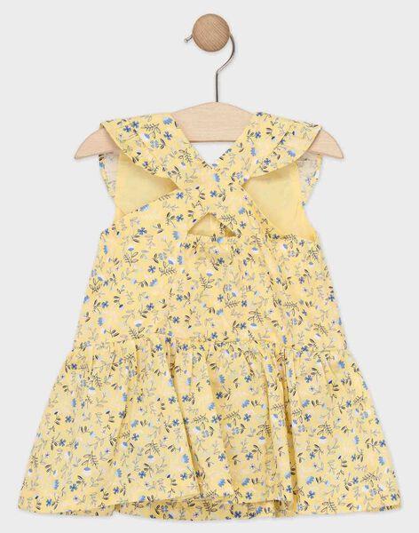 Pale yellow Dress TAOSTINE / 20E1BFO1ROB103