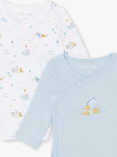 Set of 2 baby boy bodysuits ZOLIAM / 21E0NGG1BOD020